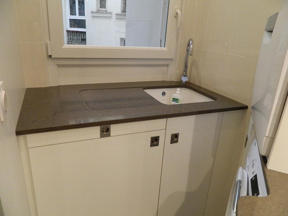 Evier avec robinet sur le cote blog de conception de maison for Pose evier cuisine