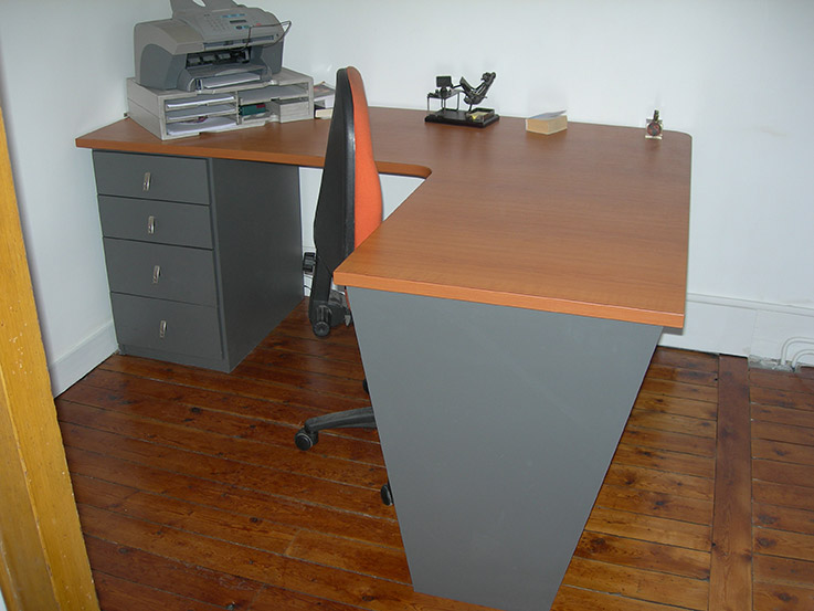 plateau melamine sur mesure. Black Bedroom Furniture Sets. Home Design Ideas