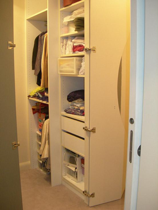 lignes et volumes meubles sur mesure with colonne dressing. Black Bedroom Furniture Sets. Home Design Ideas
