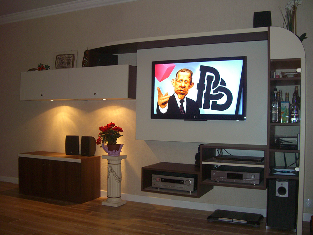 Home cinema sur mesure - Meuble tele home cinema ...